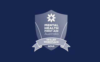 Gold Skilled Workplace Accreditation - Mental Health First Aid Courses by MHFA Australia