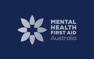 Accredited to provide Mental Health First Aid Courses by MHFA Australia